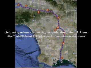 MTS map connecting schools